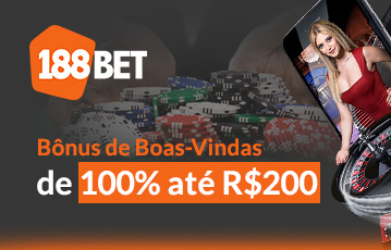 188Bet Casino Bônus
