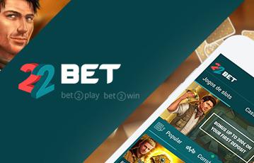 22Bet Casino Usabilidade
