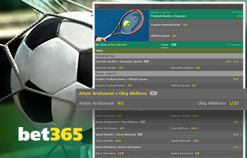 Bet365 Sports Usabilidade 2