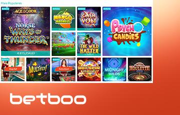 Betboo Casino Usabilidade