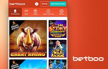 Betboo Casino Usabilidade 2
