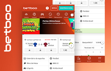 Betboo Sports Usabilidade 2