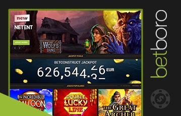 Betboro Casino Usabilidade 2