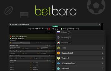 Betboro Sport Usabilidade 2