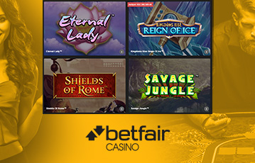 Betfair Casino Destaque