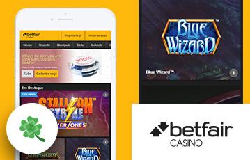 Betfair Casino Usabilidade
