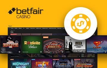 Betfair Casino Usabilidade 2