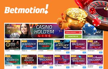 Betmotion Casino Usabilidade