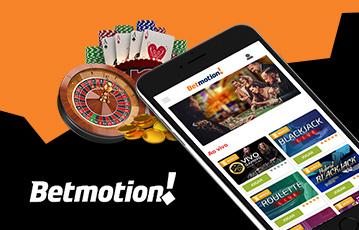 Betmotion Casino Usabilidade 2