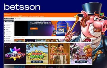 Betsson Casino Usabilidade