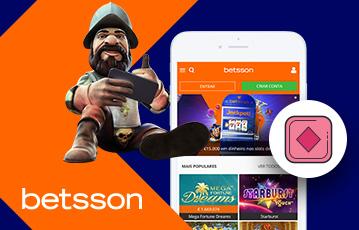 Betsson Casino Usabilidade 2