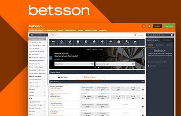 Betsson Sport Usabilidade