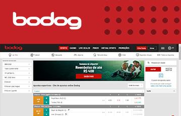 Bodog Sport Usabilidade