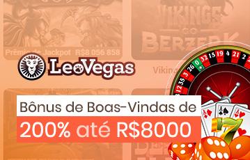 LeoVegas Casino Bônus