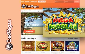 LeoVegas Casino Usabilidade