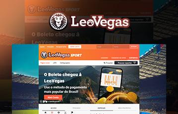 LeoVegas Sport Usabilidade