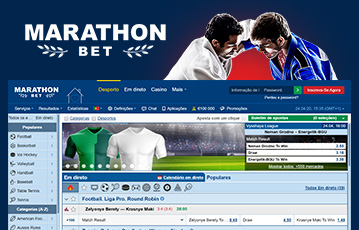 Marathonbet Sport Usabilidade