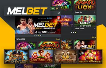 Melbet Casino Usabilidade 2
