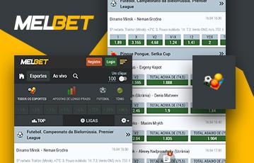 Melbet Sport Usabilidade 2