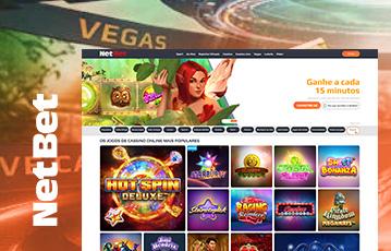 NetBet Casino Usabilidade