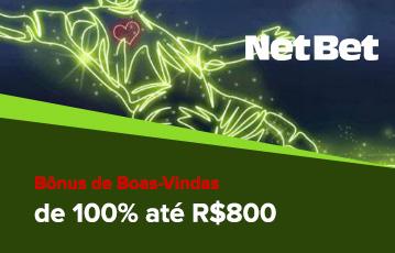 NetBet Apostas Bônus