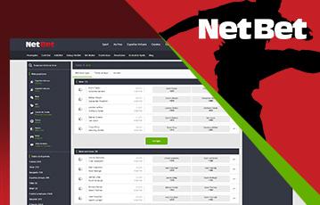 NetBet Sports Usabilidade 2