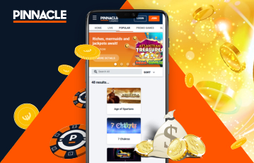 Pinnacle Casino Usabilidade 2