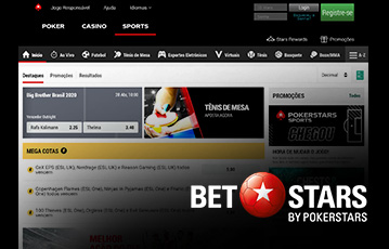 Pokerstars Sport Usabilidade