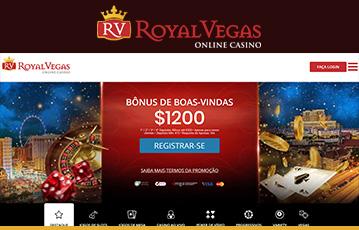 Royal Vegas Casino Usabilidade