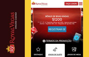 Royal Vegas Casino Usabilidade 2