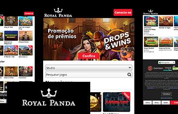 Royal Panda Casino Usabilidade 2
