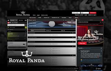 Royal Panda Sport Usabilidade