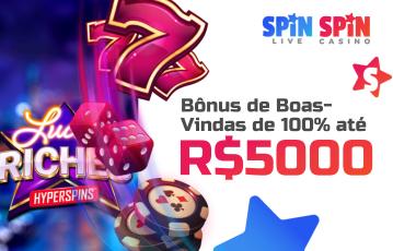 Spin Casino Live Bônus