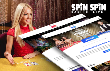 Spin Casino Live Interface