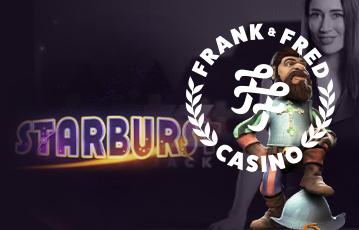 Frank & Fred Casino Starburst