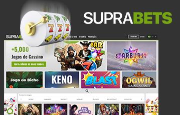 Suprabets Casino Usabilidade