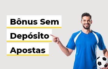 Bônus Sem Depósito Apostas Homem Bola Futebol
