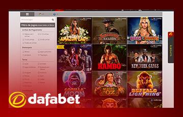 Dafabet casino usabilidade