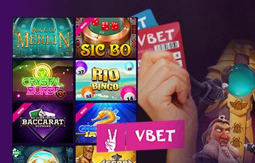 Vbet casino destaque