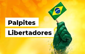 Palpites Libertadores Mão Bandeira