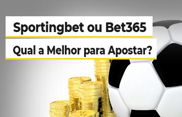 SportingBet ou Bet365? Bola Moedas