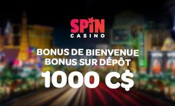 Spin Palace - Utiliser Bonus
