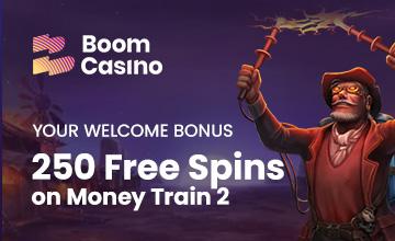 Boom Casino - Claim your Casino Bonus now!