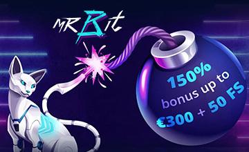 Mr Bit - Register now and claim your bonus!