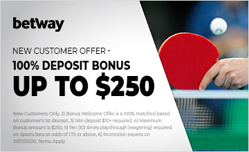 Betway - Claim your bonus now!