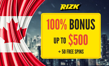 Rizk - Claim your Casino Bonus now!