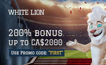 White Lion Casino - Claim your Casino Bonus now!
