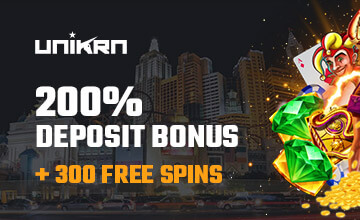 Unikrn - Claim your Casino Bonus now!