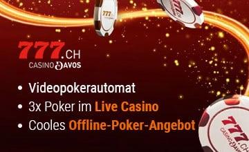 Casino777.ch - Jetzt Bonus sichern