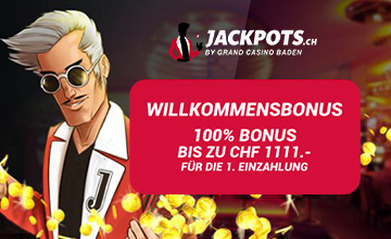 Jackpots.ch - Jetzt Casino Bonus sichern!